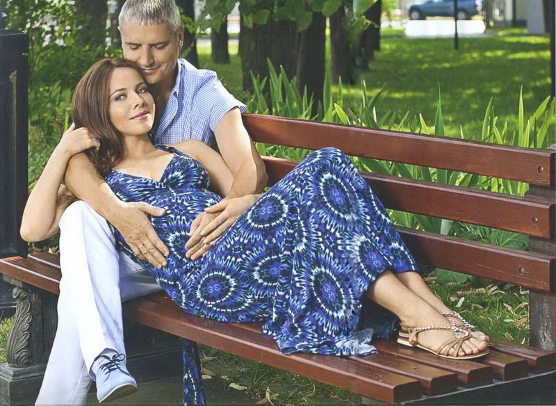 Екатерина Гусева с мужем бизнесменом Владимиром Евгеньевичем Абашкиным