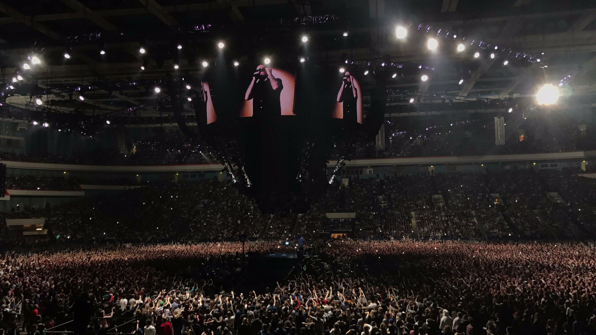 Концерт Басты в Олимпийском