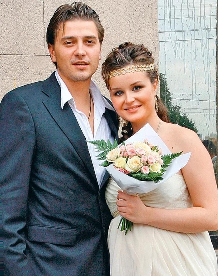 Полина Гагарина с бывшим мужем актером Петром Кисловым