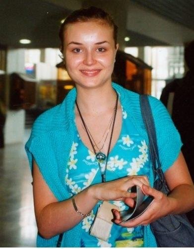 Полина Гагарина в юности