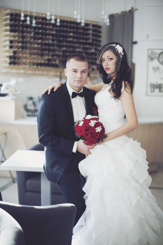 Макс Корж с женой