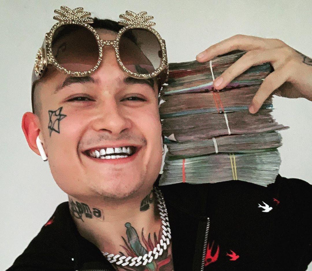 Моргенштерн с деньгами