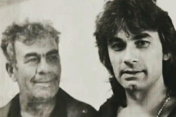 Александр Серов с отцом