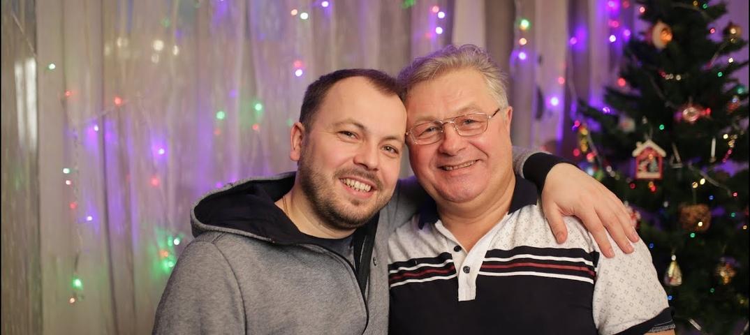 Ярослав Сумишевский в гостях у папы