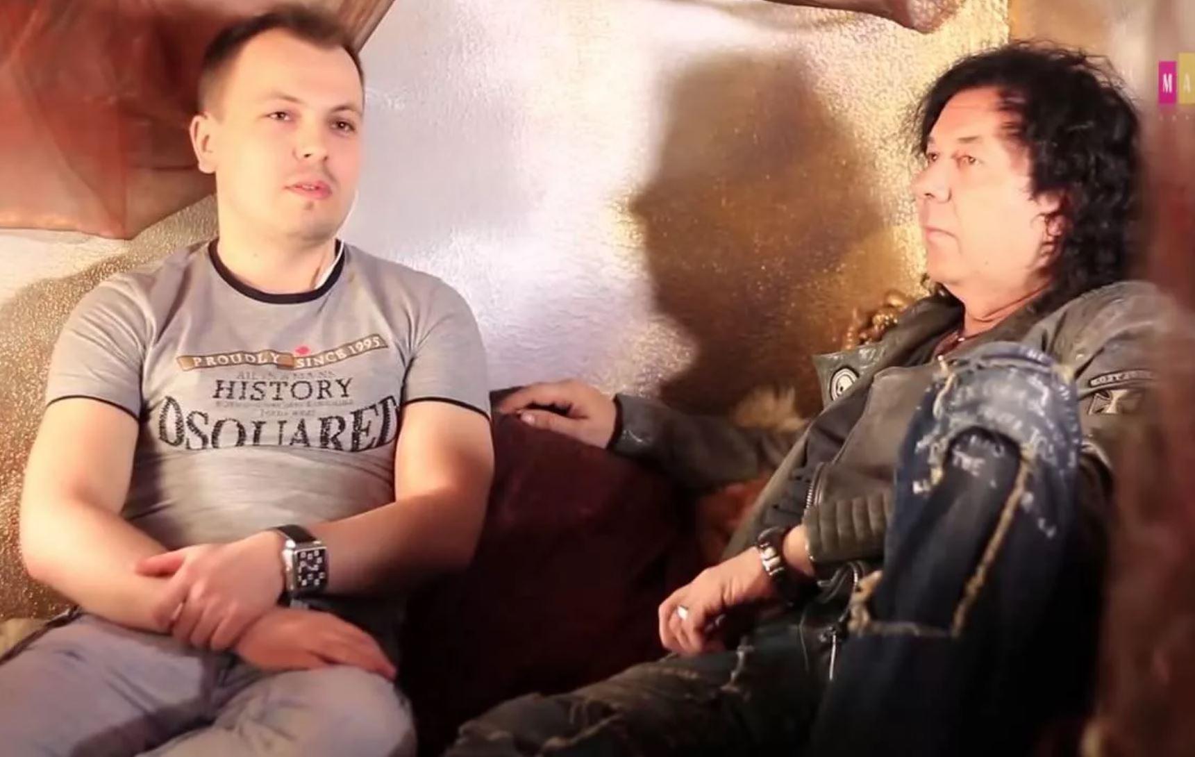 Ярослав Сумишевский и композитор Александр Кузьмин