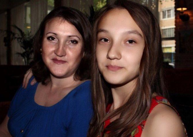 Первая жена Светлана и старшая дочь Ксения Ярослава Сумишевского