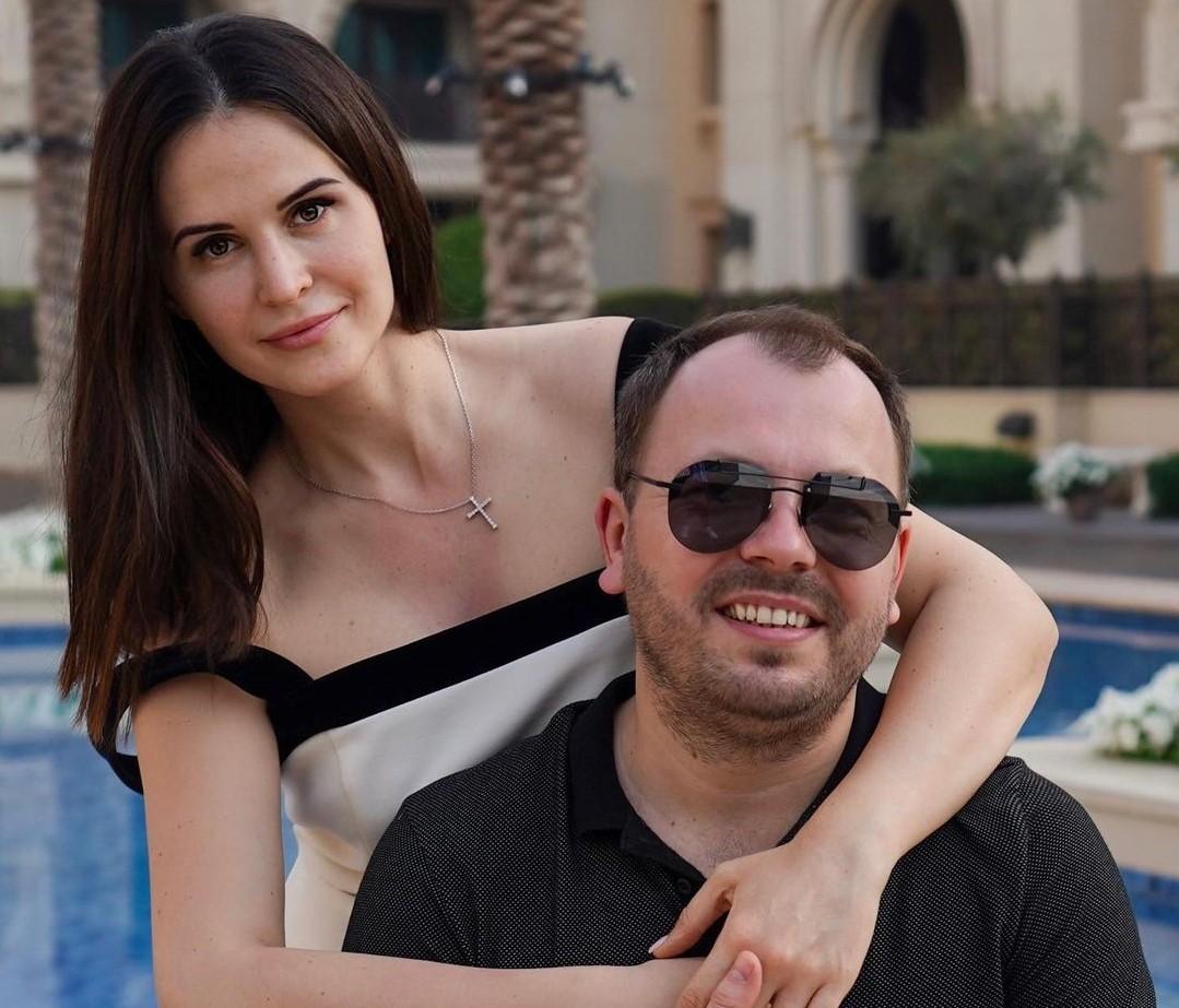 Ярослав Сумишевский со второй женой Натальей Сумишевской