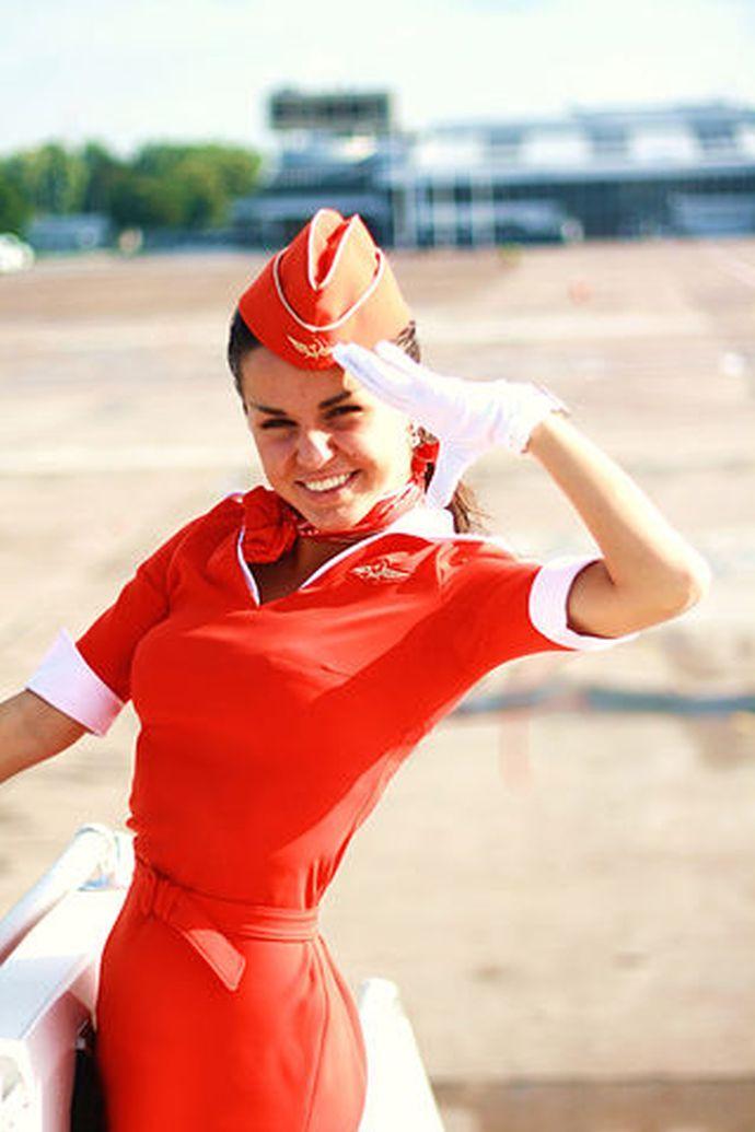 Юлия Зиверт раньше работала стюардессой