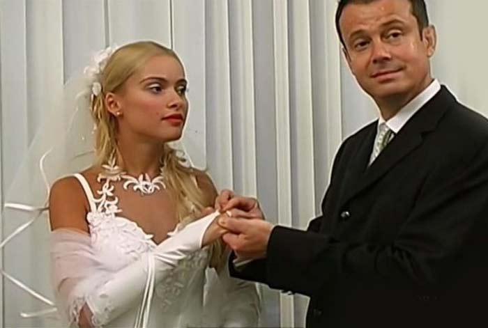 Первая свадьба Руслана и Алёны Кравец