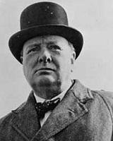 Фото Уинстона Черчилля