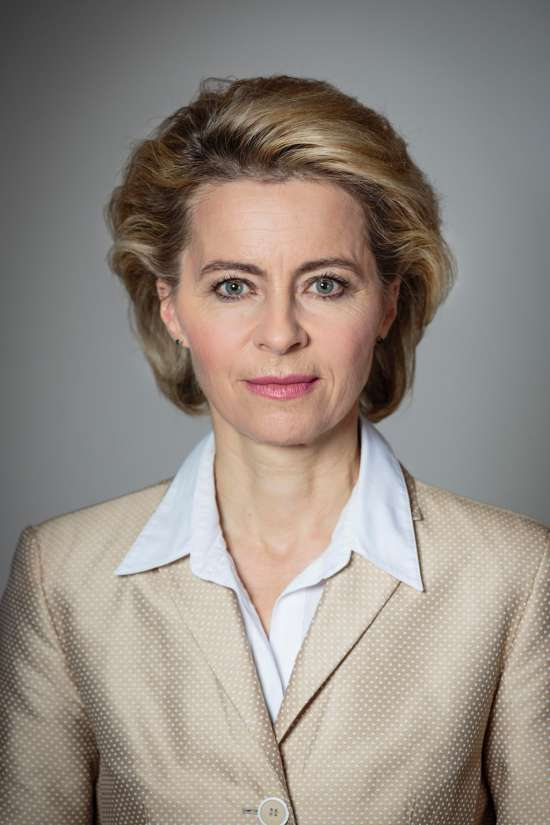 Урсула фон дер Ляйен