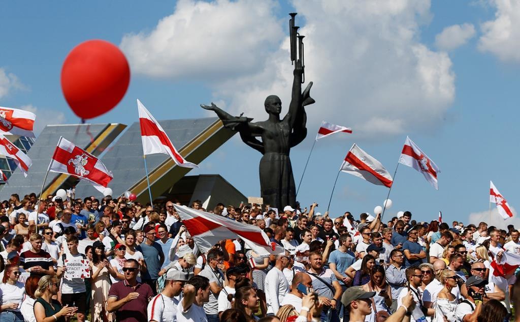 Митинги в Беларуси в 2020 году