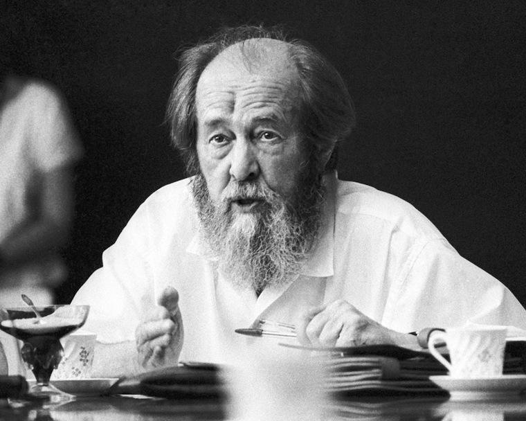 Солженицын Александр Исаевич - фотографии